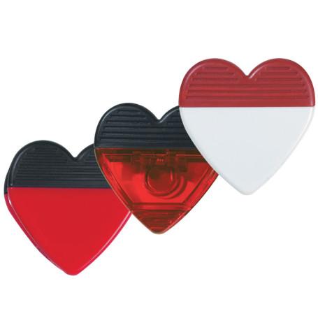 Custom Logo Heart Shape Clip
