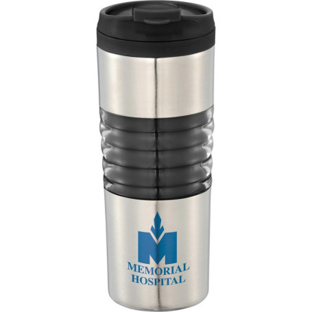Custom Printed Ripple 16-oz. Travel Tumbler