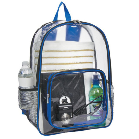 Customizable Clear Backpack