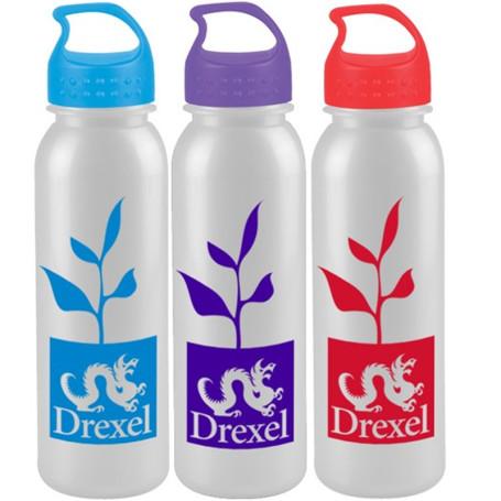 Custom Logo 24 oz. Metalike Bottle with Crest Lid