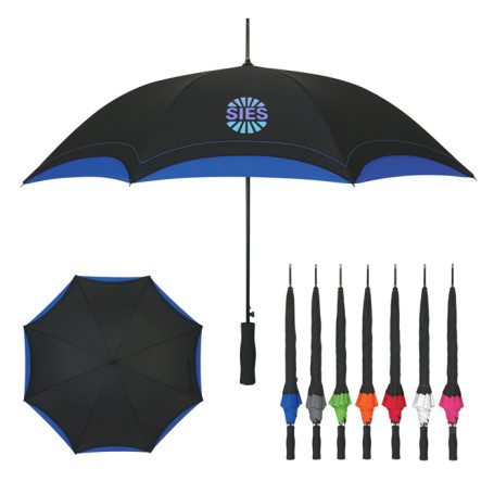 "Monogrammed 46"" Arc Umbrella"