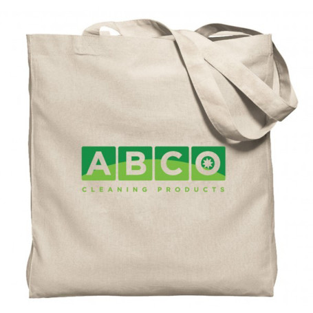 Natural Gusseted Economy Tote