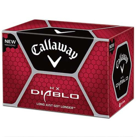 Imprinted Callaway Diablo Golf Balls