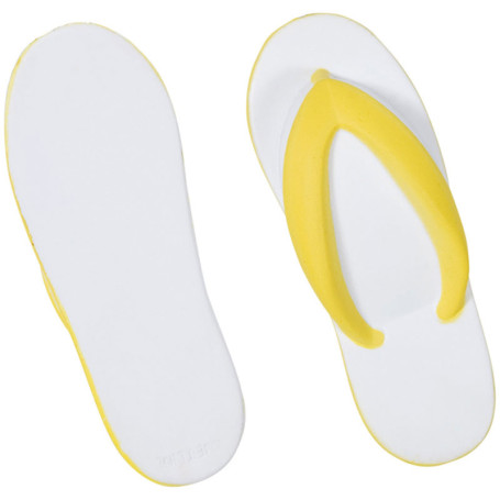 Imprinted Flip Flops Stress Reliever