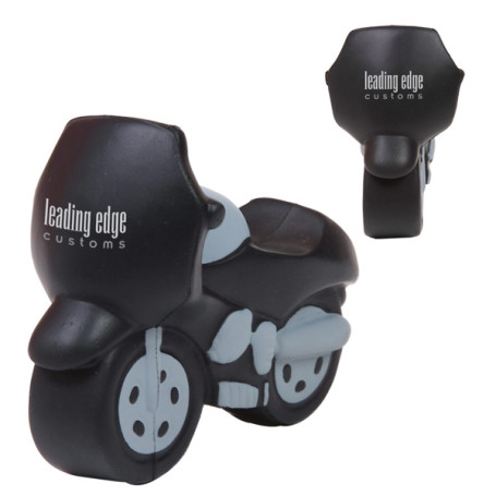 Imprinted Motorcycle Stress Reliever