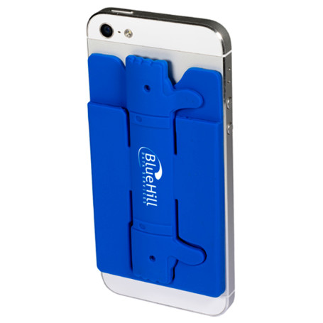 Imprinted Quik-Snap Thumbs-Up Mobile Device Pocket/Stand