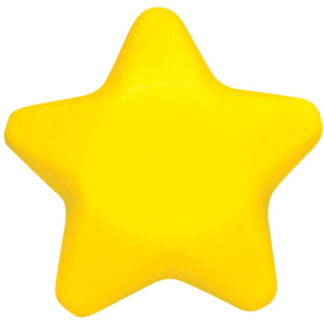 Imprinted Star Stress Reliever