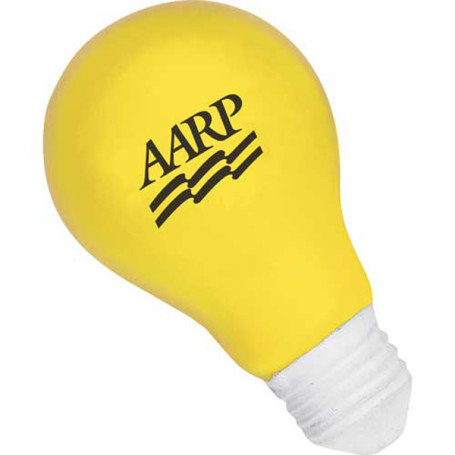 Logo Light Bulb Stress Reliever