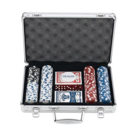 200 Chips Poker Set In Aluminum Case
