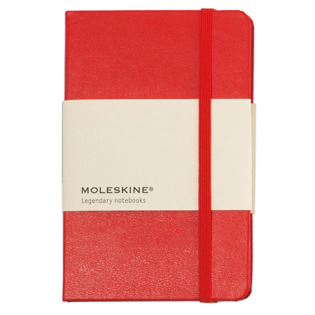 Moleskine Printed Hard Cover Ruled Pocket Notebook