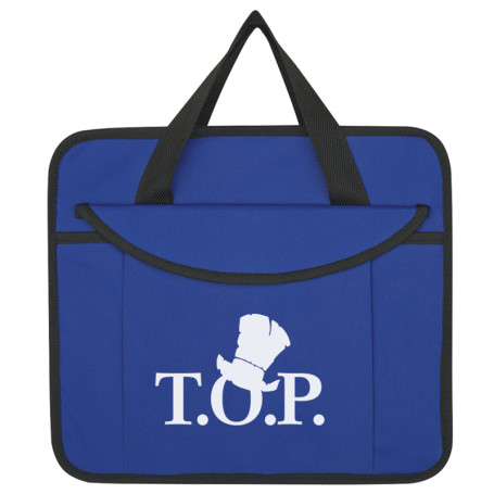 Monogrammed Non-Woven Trunk Organizer With Kooler