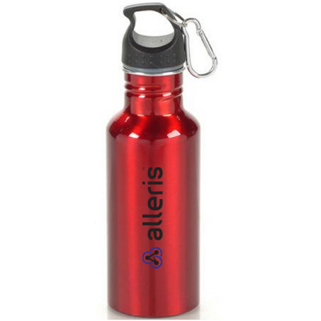 Printed 20 oz Wide Mouth Aluminum Sports Bottle