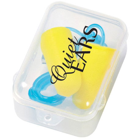 Promo Foam Ear Plug Set In Case