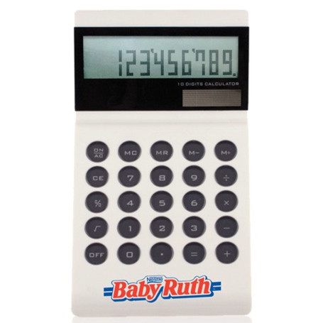 Promotional Ultra Slim Solar Calculator