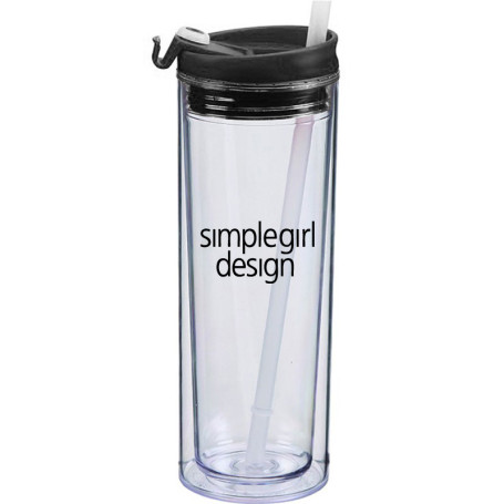 20 oz. Clear Cup Insulated Spirit Tumbler