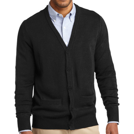 Port Authority Value V-Neck Cardigan with Pockets (Apparel)