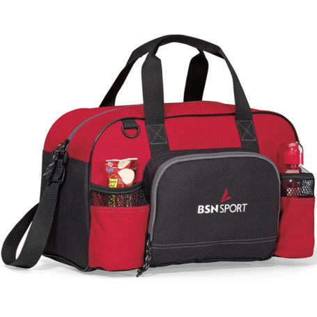 Printed Apex Sport Bag - red