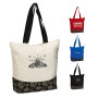 Printable Zippered Color Pop Tote