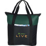 Custom Heavy Duty Zippered Business Tote Bag