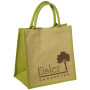 Custom Logo Junior Jute Tote