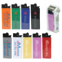 Imprinted Solid Super Slim Standard Lighter