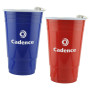 Printed 16 Oz. Translucent Double Wall Insulated Tumbler