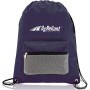 Promotional Cinch Backpack With Front Pocket