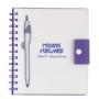 Monogrammed Spiral Notebook With Dart Pen