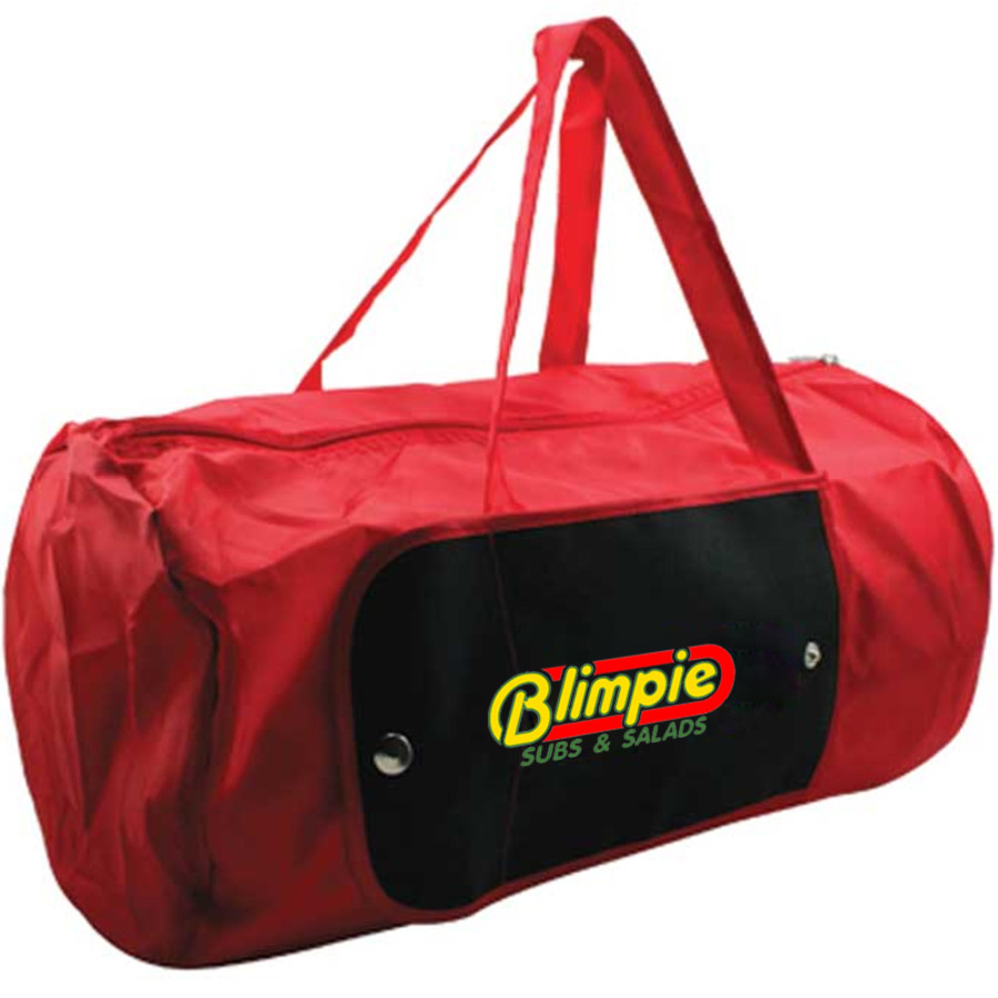Promotional Nylon Roll Duffel Bag