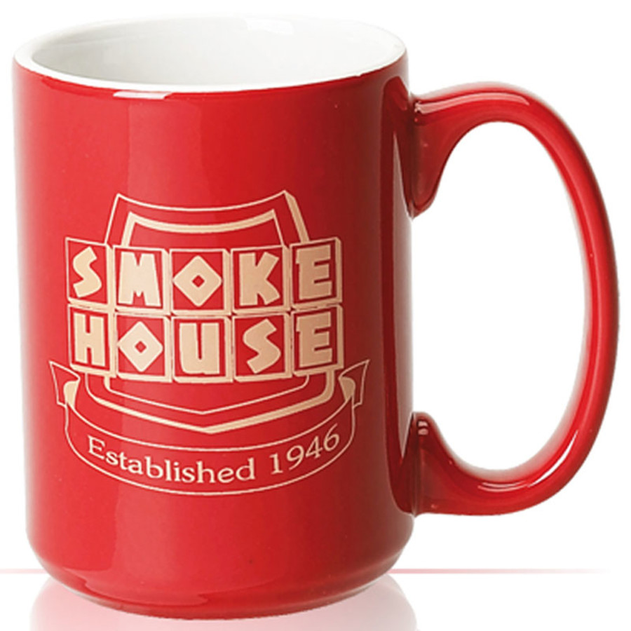 15 oz. Two Tone Solid Coffee Mug