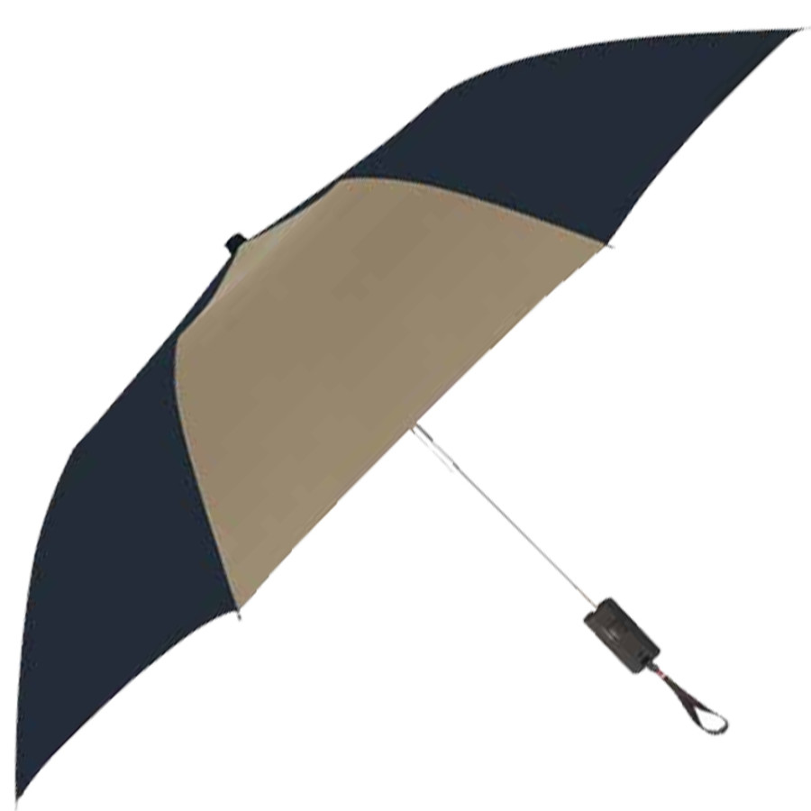 "Printed 44"" Arc Auto-Open Folding Umbrella"