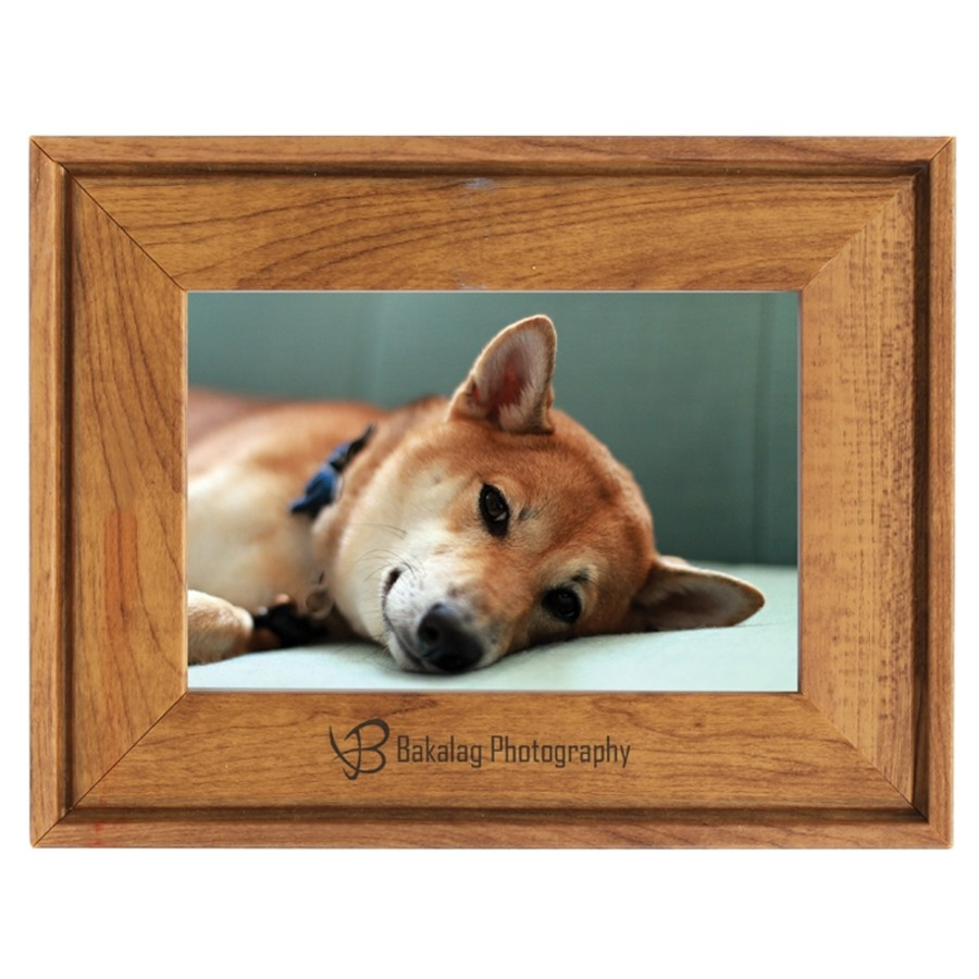 Faux Wood Photo Frame