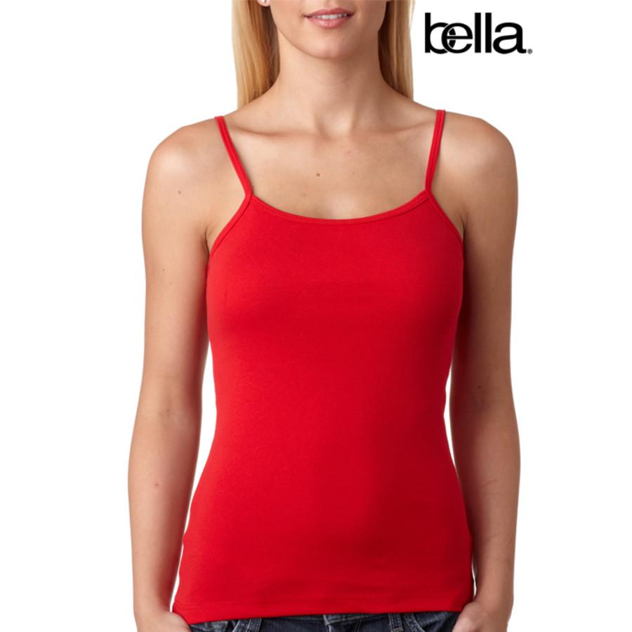 Bella Baby-Rib Spaghetti-Strap Tank Top