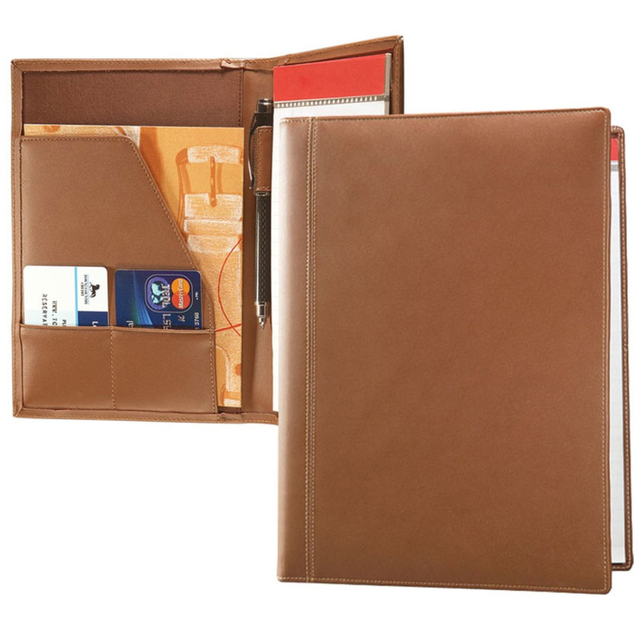 Concord Leather Logo Junior Padfolio