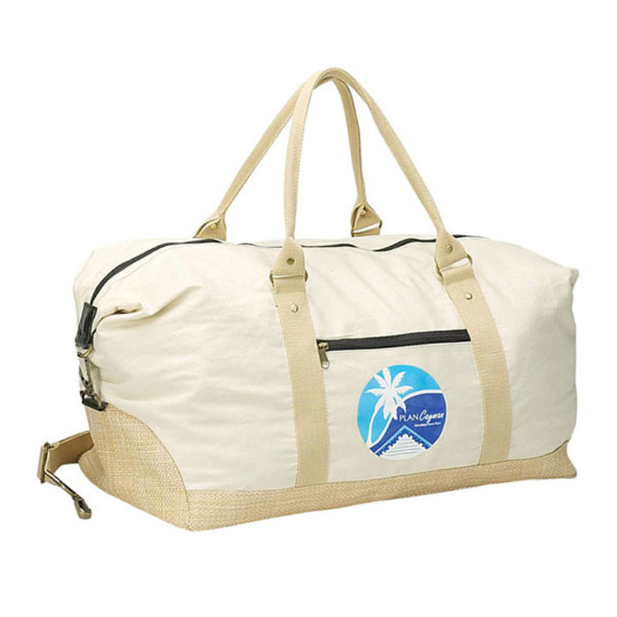 Custom Logo Eco Cotton Duffel