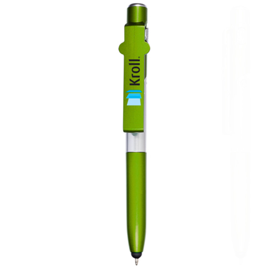 Custom Printed 4-in-1 Multi-Purpose Stylus Pen