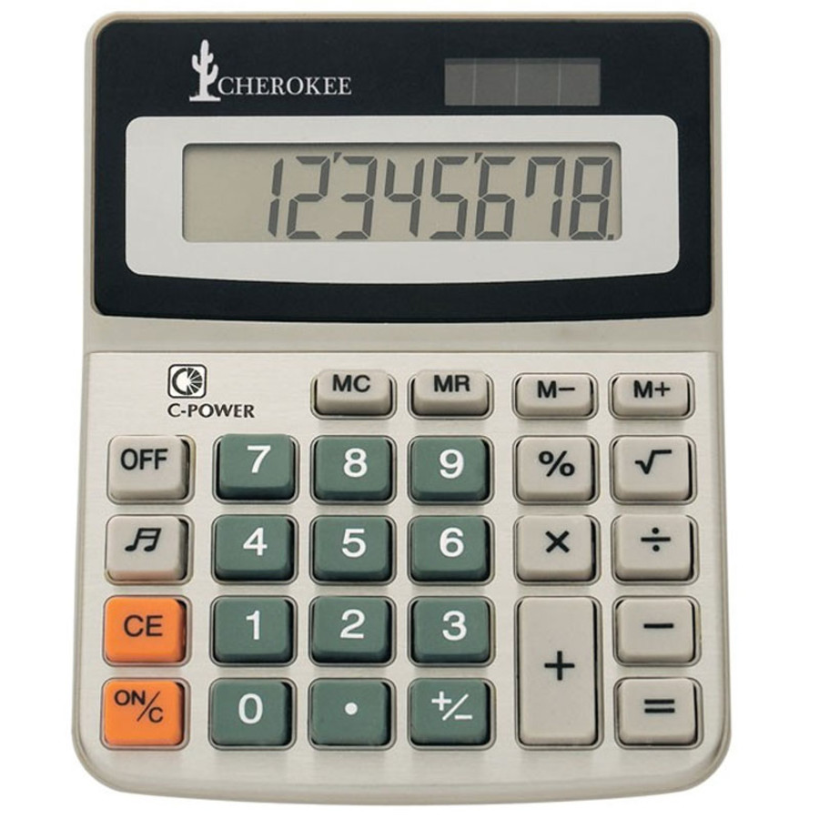 Custom Printed Dual Power Calculator