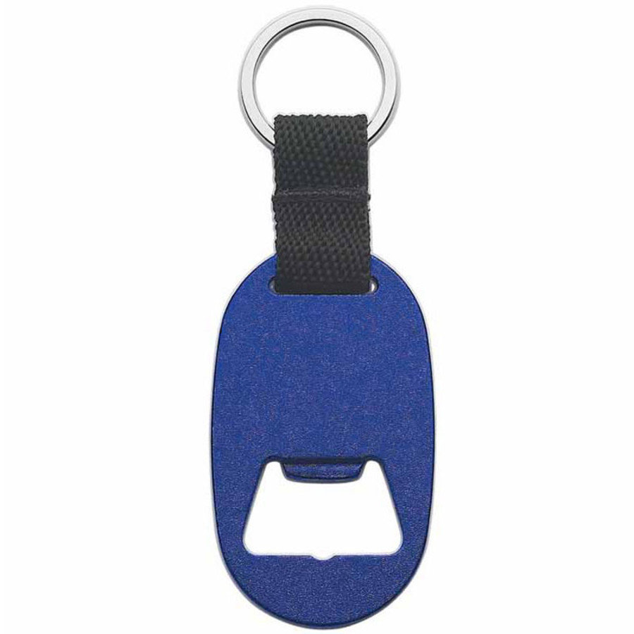 Custom Printed Metal Key Tag With Bottle Opener