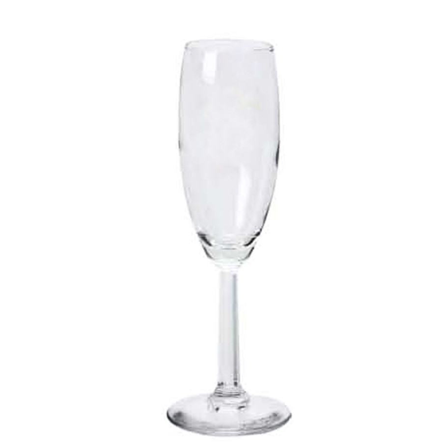 5.75 oz. Promotional Champagne Flute
