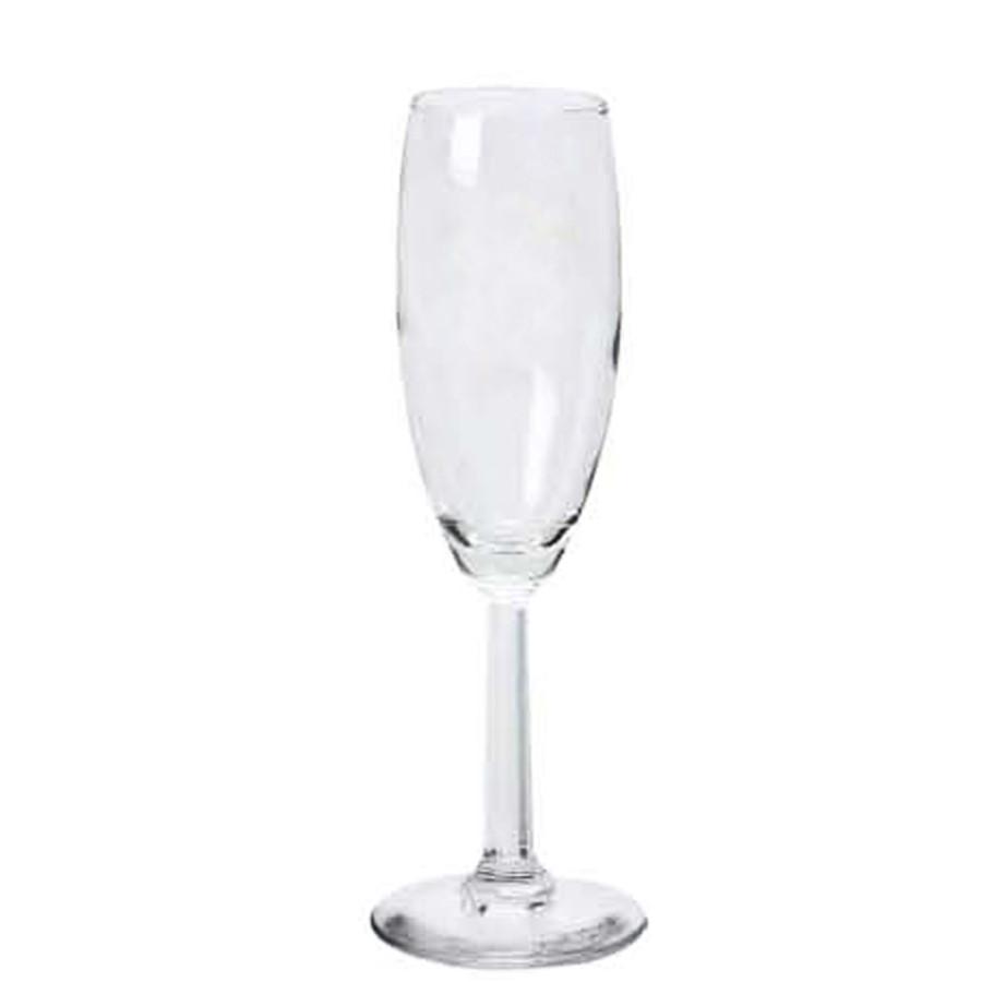 5.75 oz. Promotional Champagne Flute