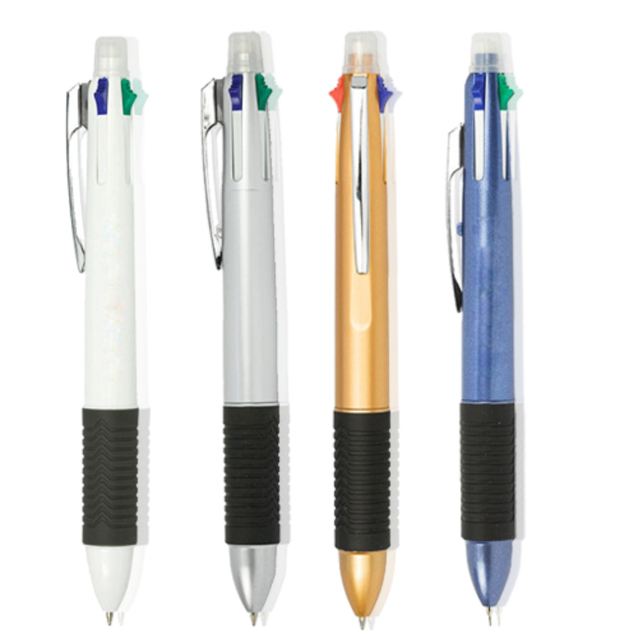 Multi Retractable Ballpoint Pen & Pencil