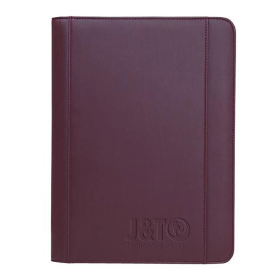 Promotional Ultrahyde Zippered Padfolio