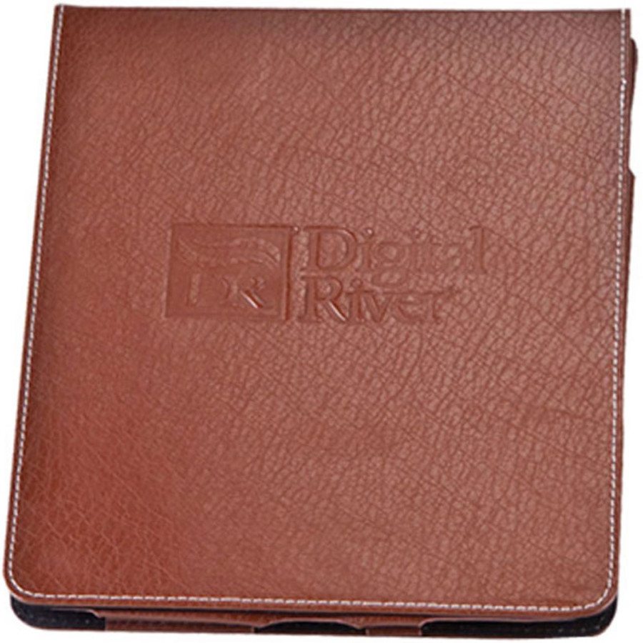 Deluxe Imprinted Bonded Leather iPad Case