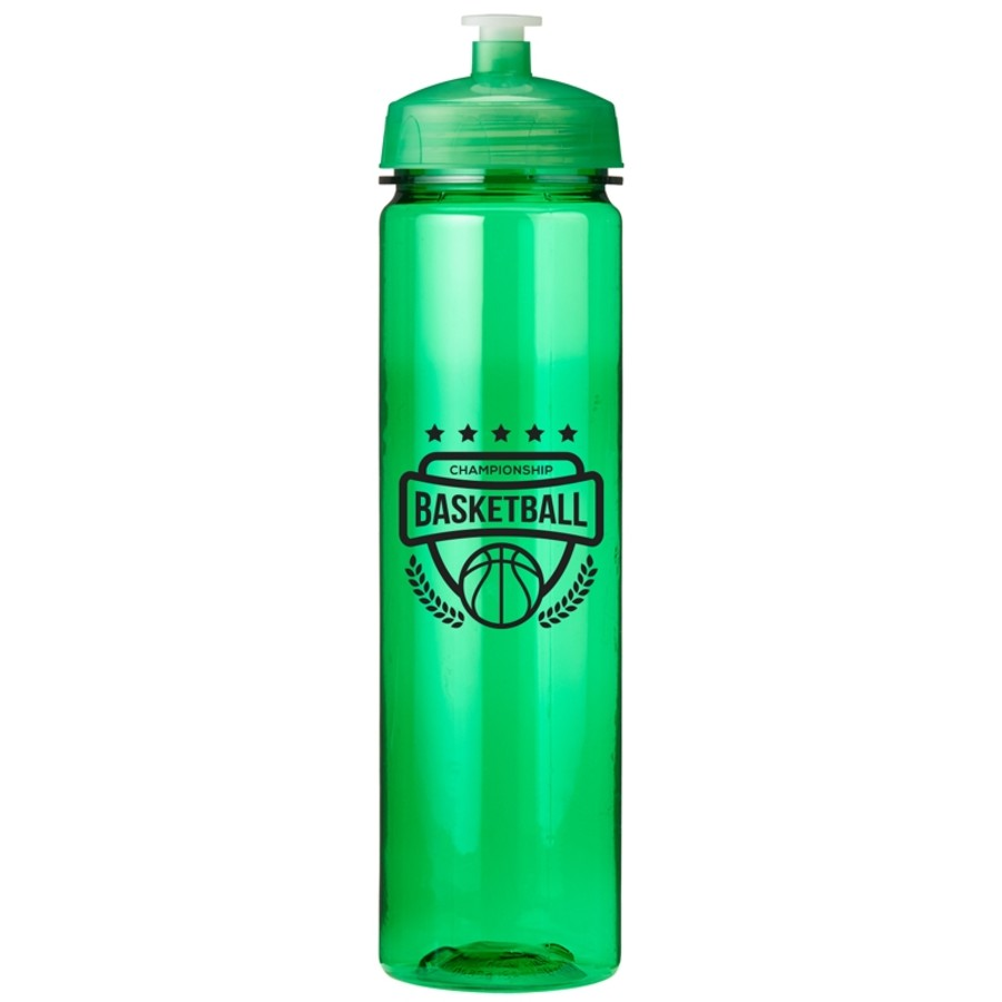 Custom Logo 24 oz. Poly Sure Refresh Bottle