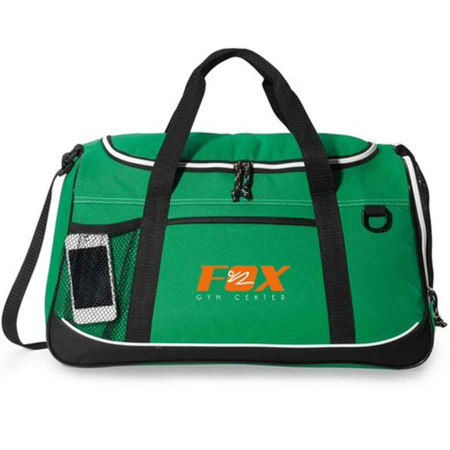 Personalized Echo Sport Bag - green printed