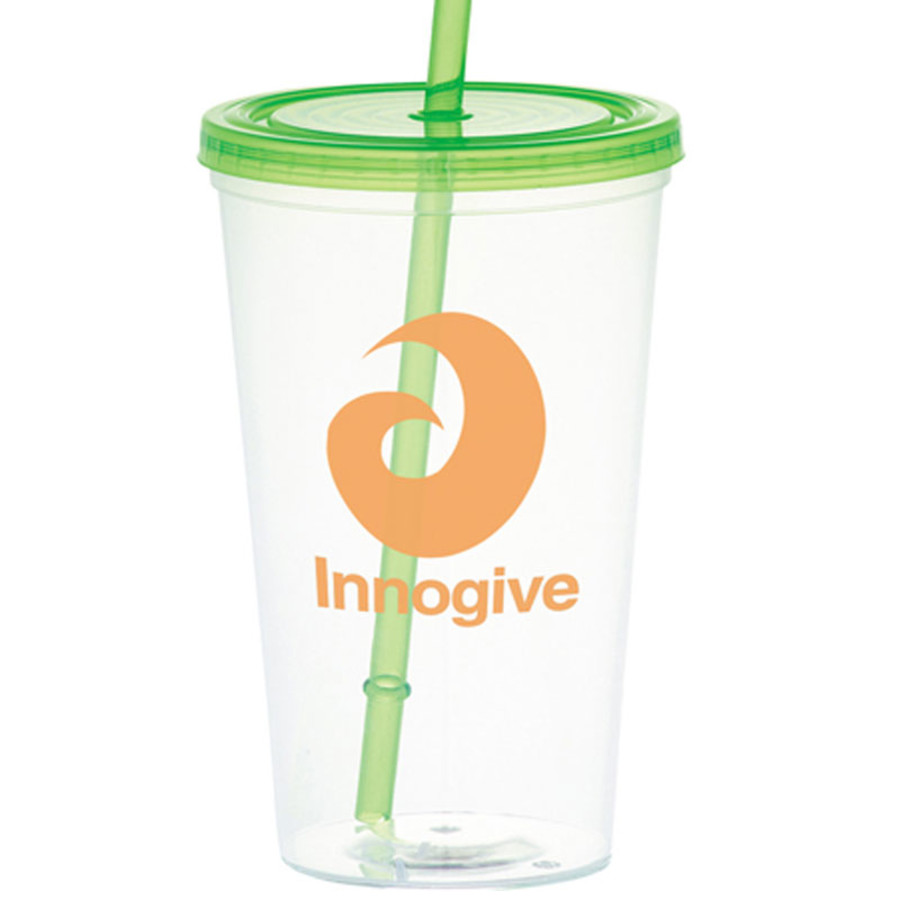 Glacier 20-oz. Tumbler with Straw