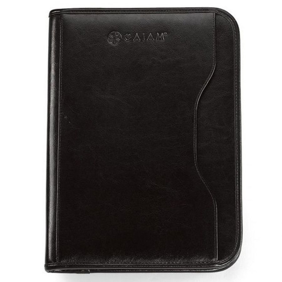 Imprintable Vanguard Leather Calculator Padfolio
