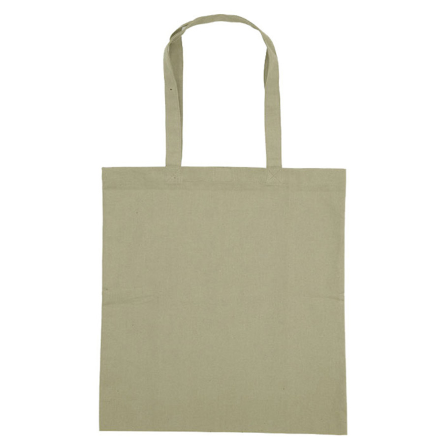 Imprinted Colored Cotton Tote Bag