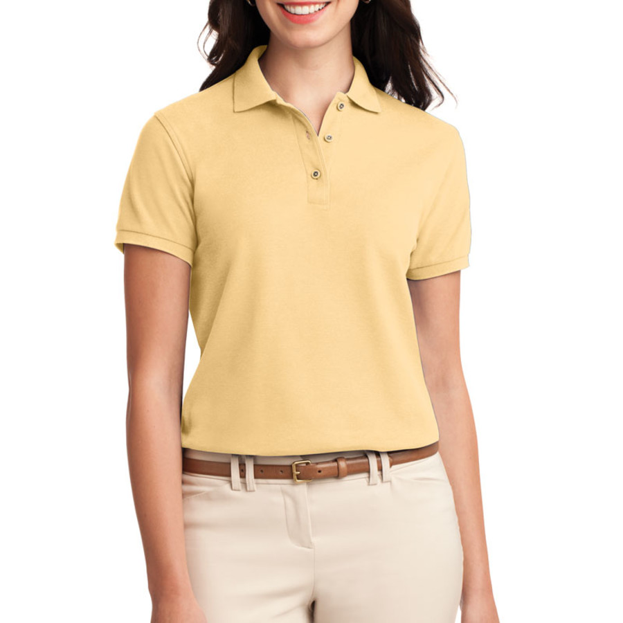 05d265ee Port Authority Ladies Silk Touch Polo