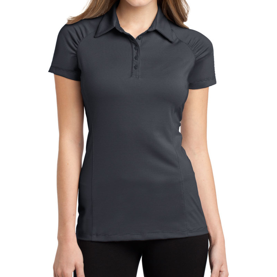 Port Authority Ladies Fine Stripe Performance Polo (Apparel)